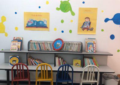 Salle de lecture Maternelle