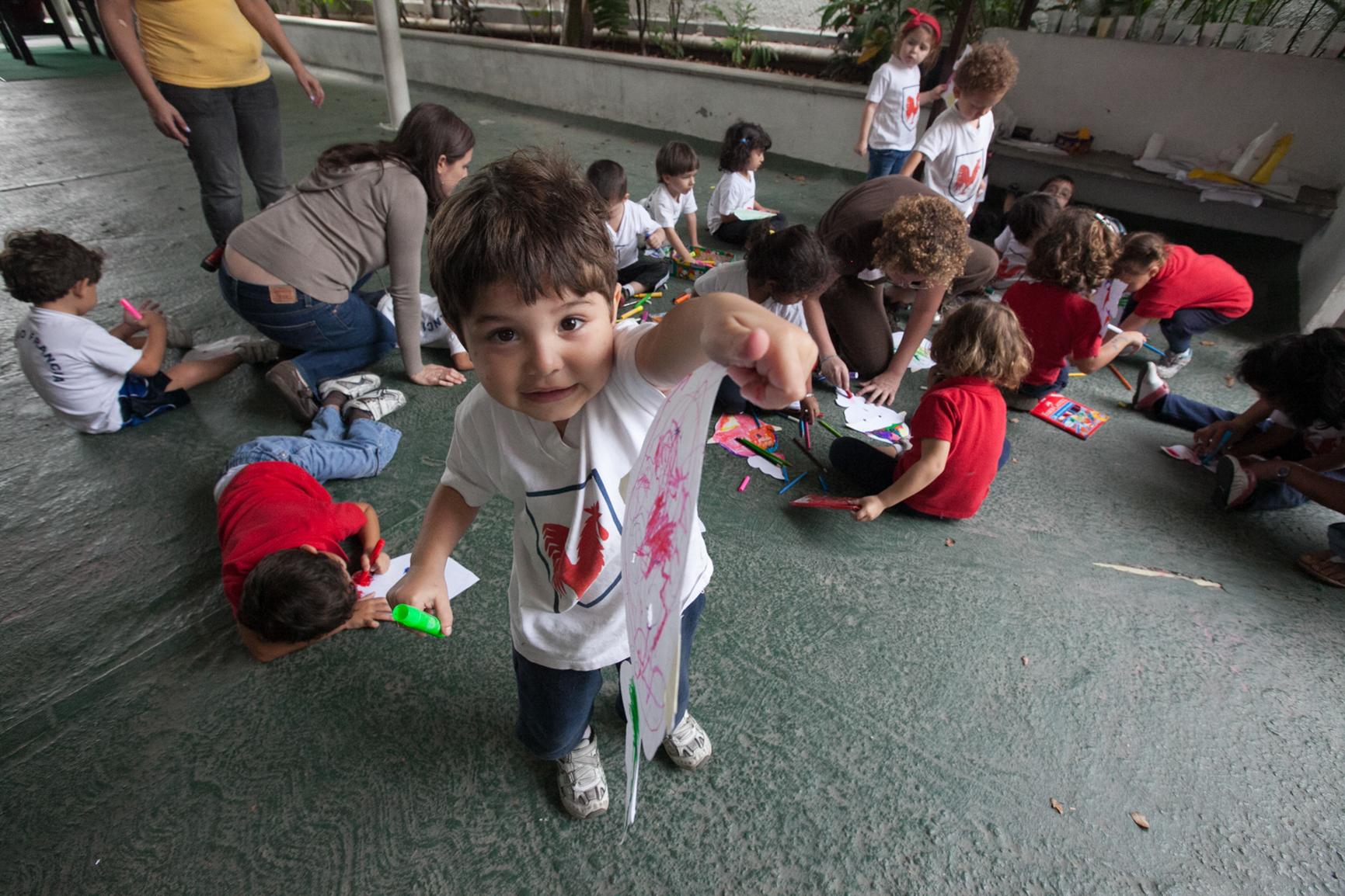 Maternelle : activités artistiques